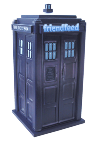 FriendFeed Time Machine