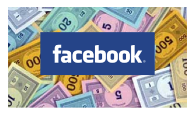 Facebook Monopoly Money