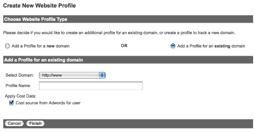 create new google profile