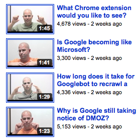 Matt Cutts Videos