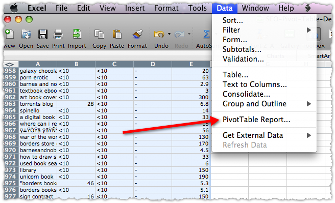 Attractive Create Pivot Table