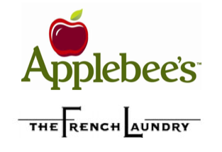 Applebees vs The French Laundry