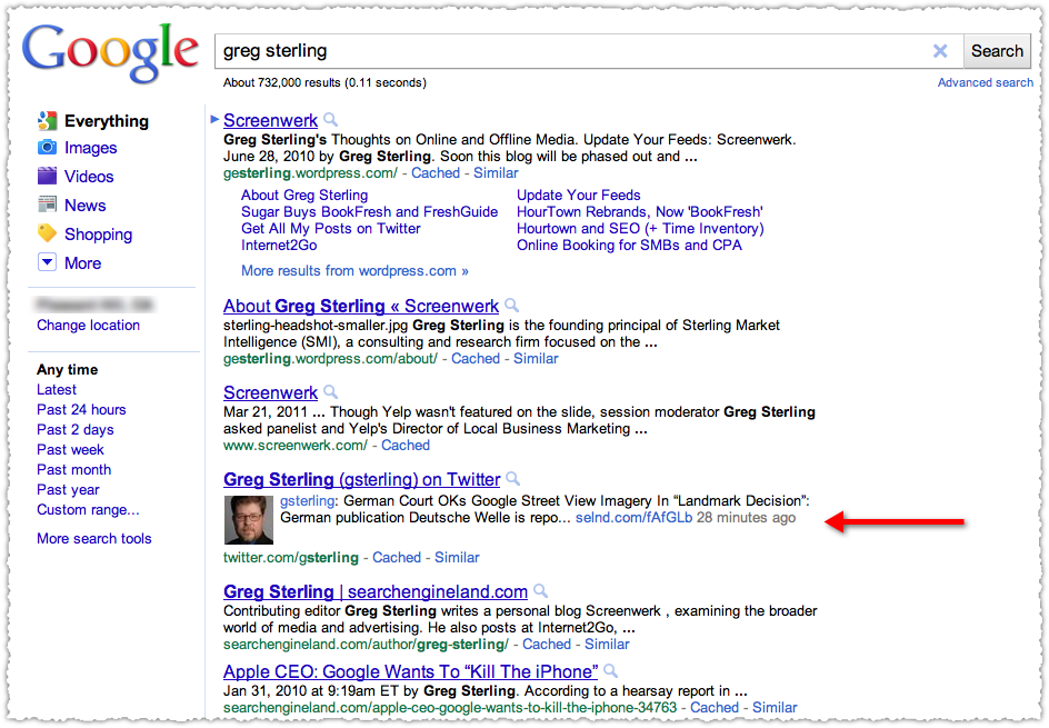 Google Rich Social Snippets