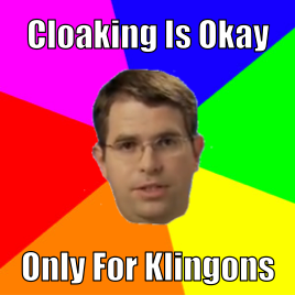 Matt Cutts Meme about Cloaking