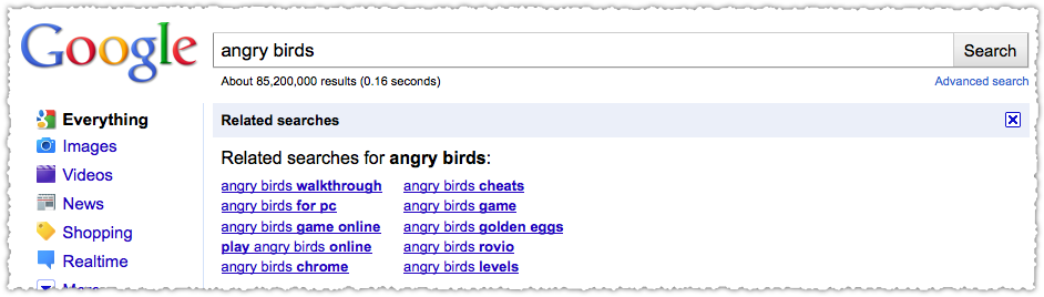 Angry Birds Related Searches