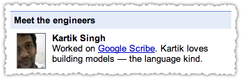 Google Scribe Engineer