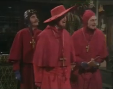 The Google Version of The Spanish Inquisition