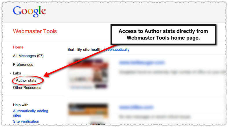 How To View Google Author Statistics