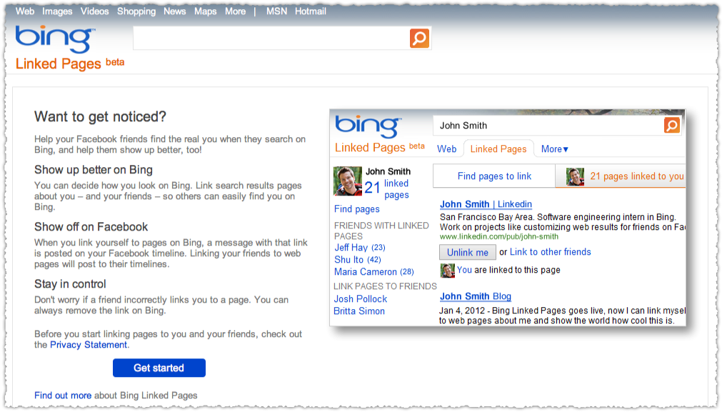 Bing Linked Pages Underwhelms