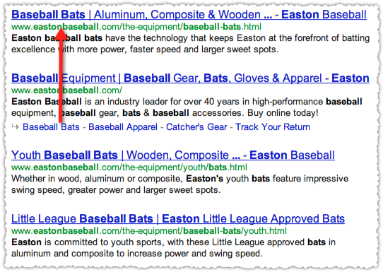Easton Baseball Bats Google Search Results