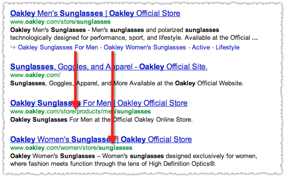 Oakley Sunglasses Google Results