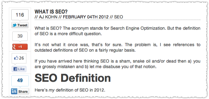 Social Proof for What Is SEO?
