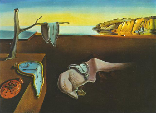 Salvador Dali Dripping Clocks