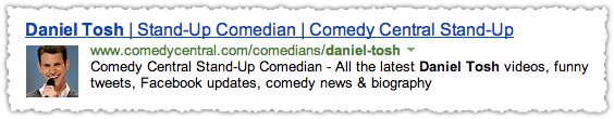 Comedy Central People Snippet for Daniel Tosh