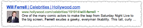 Hollywood.com People Snippet for Will Ferrell