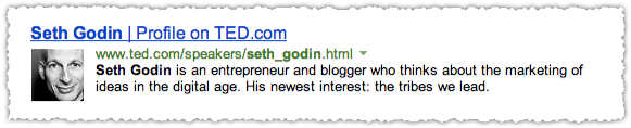 TED People Snippet for Seth Godin