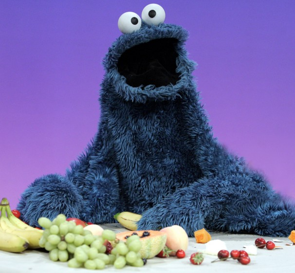 Cookie Monster Fruit