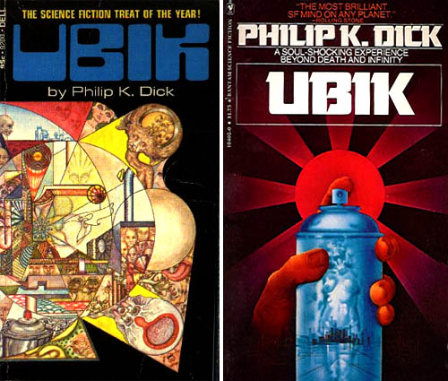 Ubik Book Cover Art