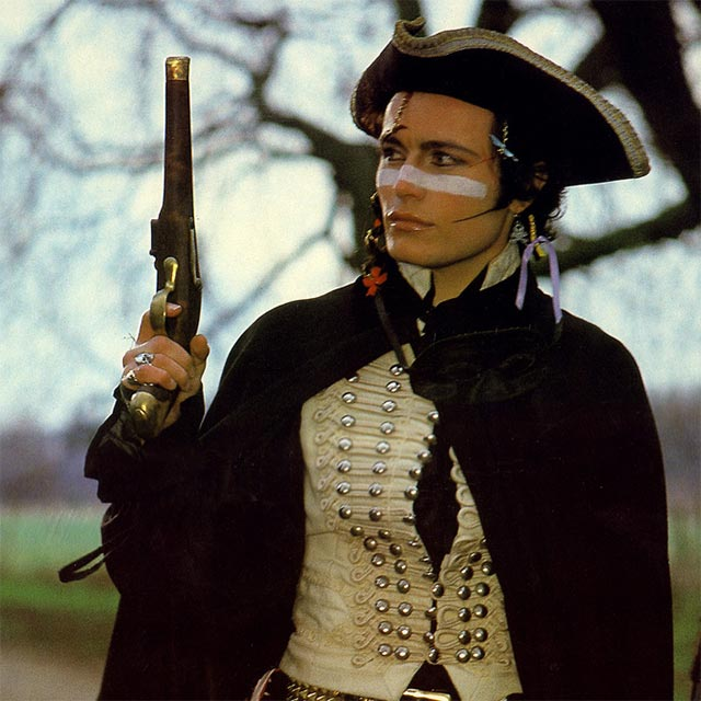 Adam Ant Full Costume