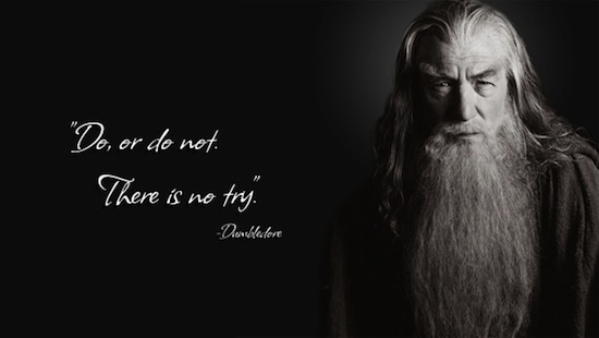 Do or Do Not Dumbledore