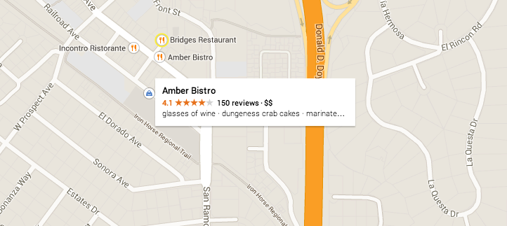 People Talk About Amber Bistro