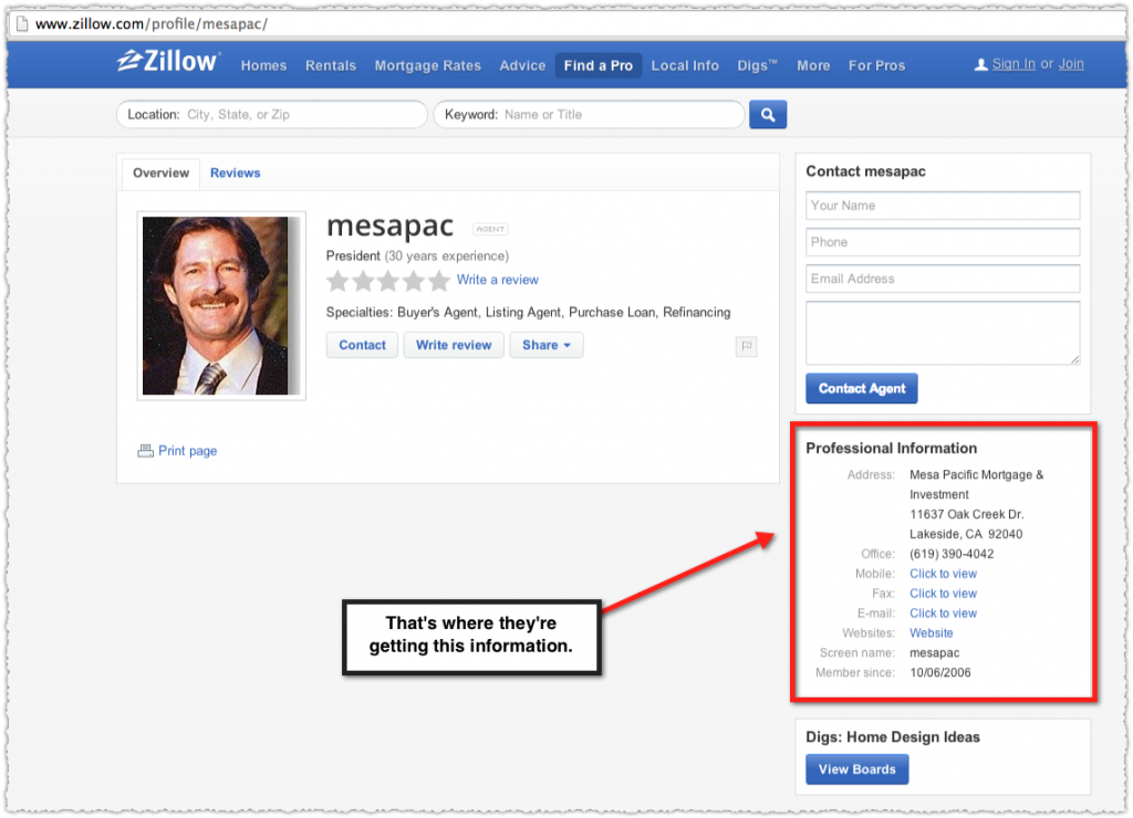 Zillow Structured Data Example