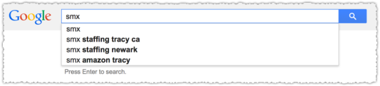 Nonpersonalized Autocomplete