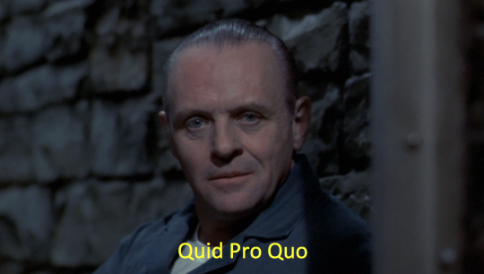 Silence of the Lambs Quid Pro Quo