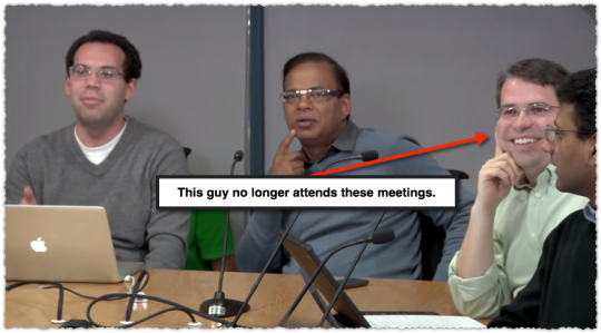 Google Search Quality Meeting Screencap