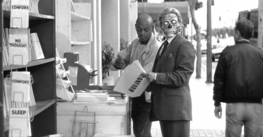 They Live Movie Scene