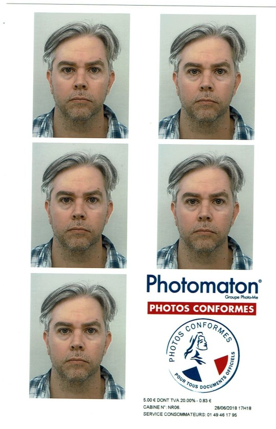 French Passport Photos